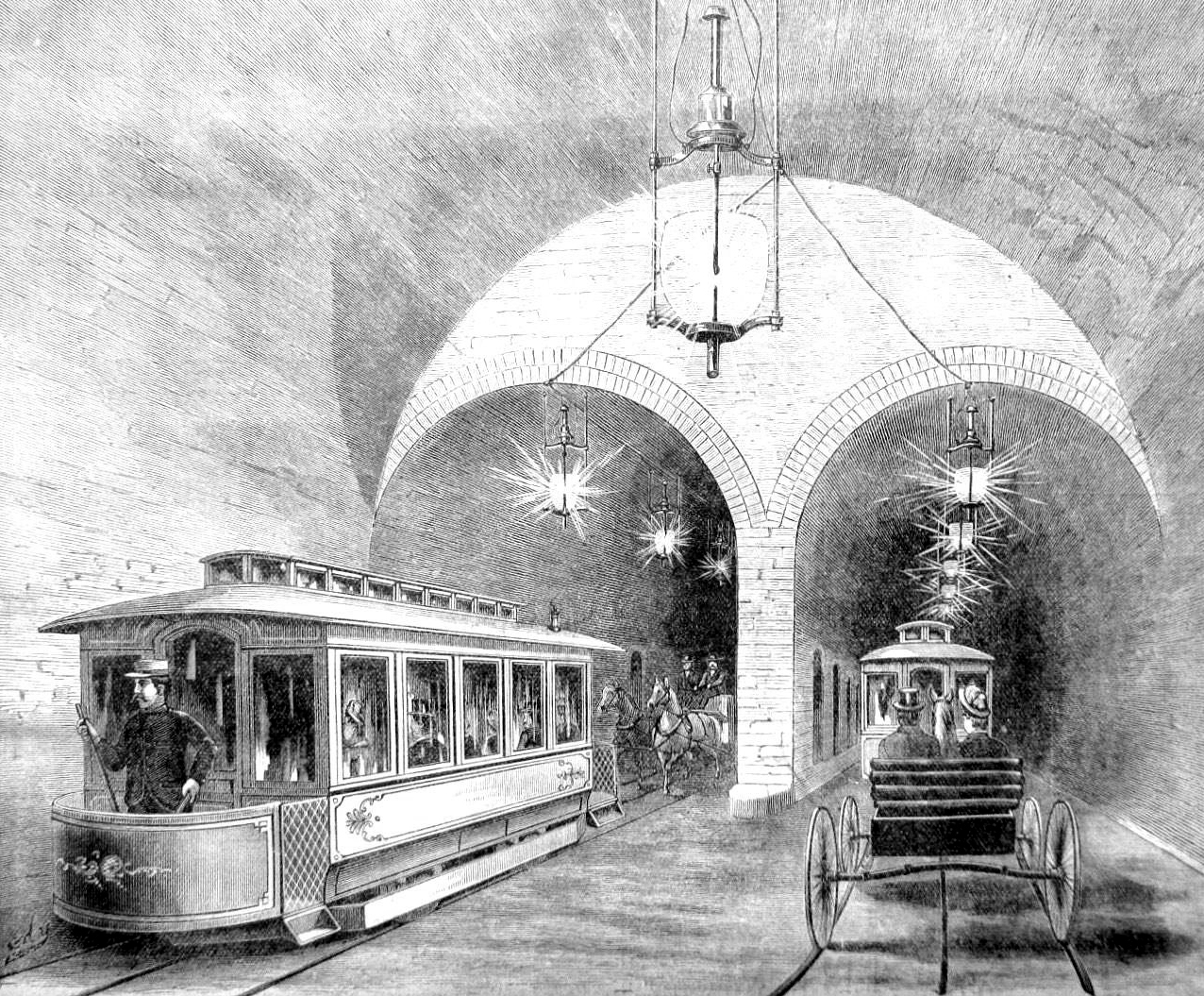 March 26, 1888 -- Cable Car Debuts on the North Side | Connecting ...