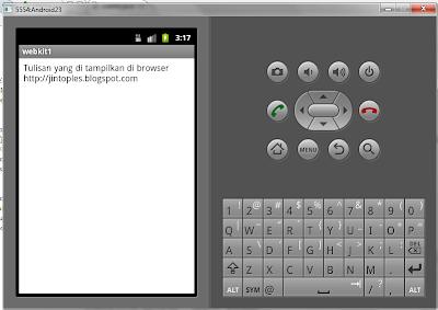 Membuat Aplikasi Android Webkit Untuk Load HTML