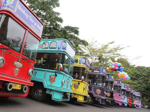 Bus Bandros Bandung 2018