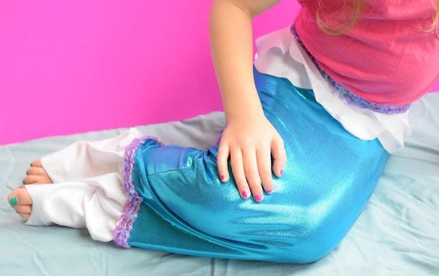 Mermaid Tail Costume DIY Sewing Tutorial