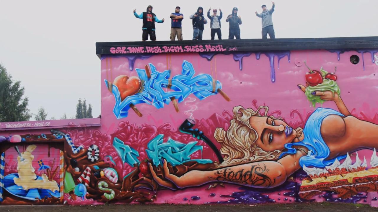 24 foto grafiti tulisan maya  gambar tulisan