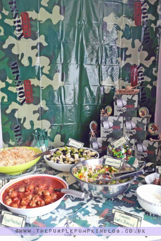 Army party camo food labels free printables for Army party decoration ideas