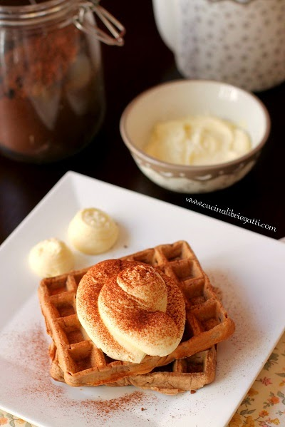 waffel al caffè crema mascarpone ricetta