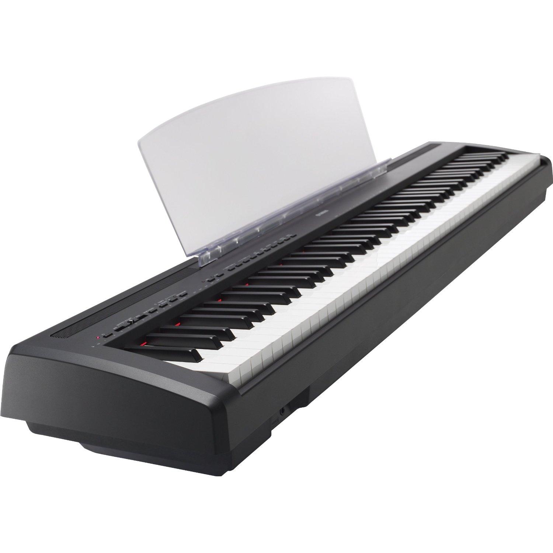 yamaha p 95b digital piano 12 watt james musical instrument reviews. Black Bedroom Furniture Sets. Home Design Ideas