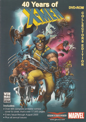 40 Years of X-MEN by Marvel DVD-ROM by GIT, Corp.
