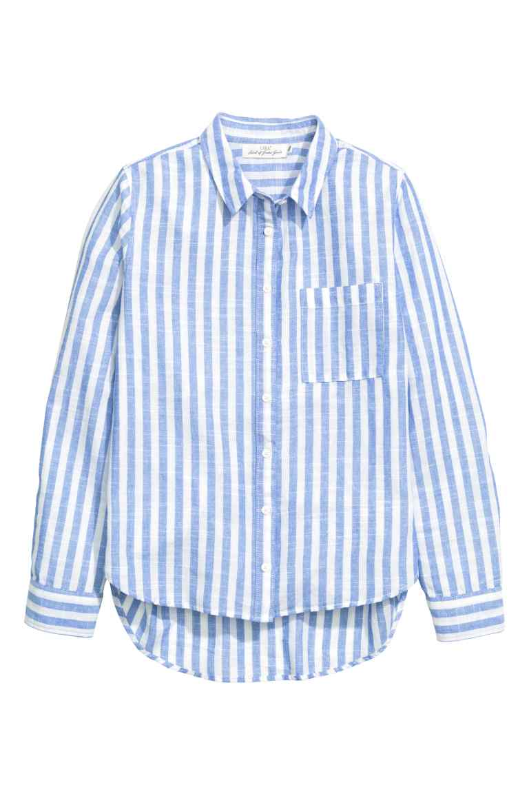 Blue & White Shirts | A Stylish Something