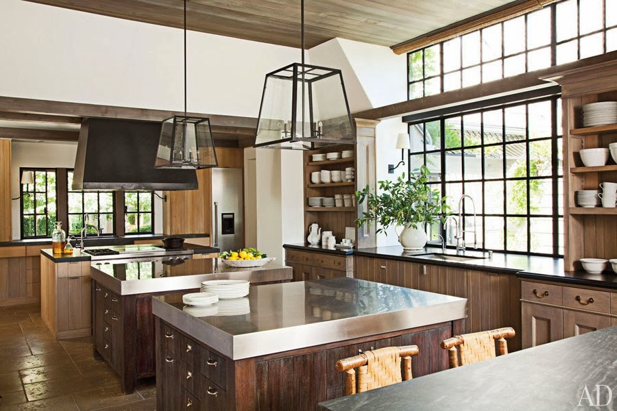Glass And Steel Architecture Decorating Ideas