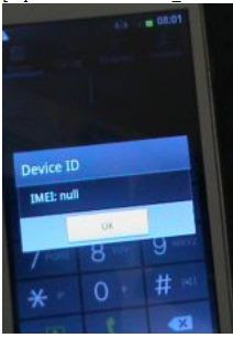 Samsung I8092 imei null repair