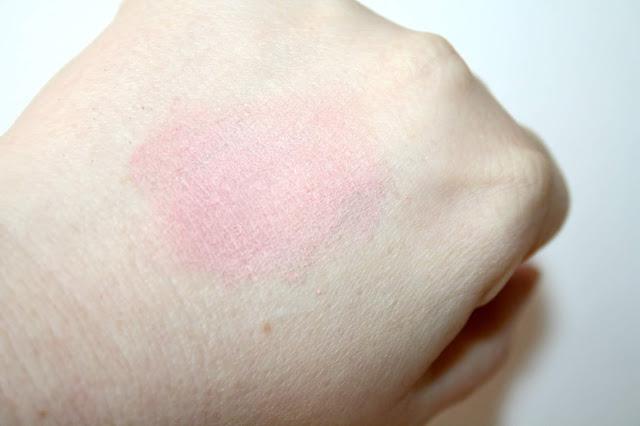 Annabelle Minerals Rose Blush Swatch