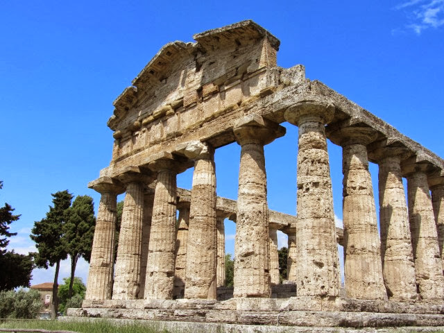 Griekse tempel in Paestum
