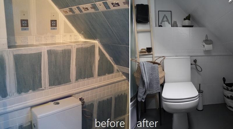 łazienka,metamorfoza, metamorfoza łazienki, wnętrza, at home, w łazience, before/afer