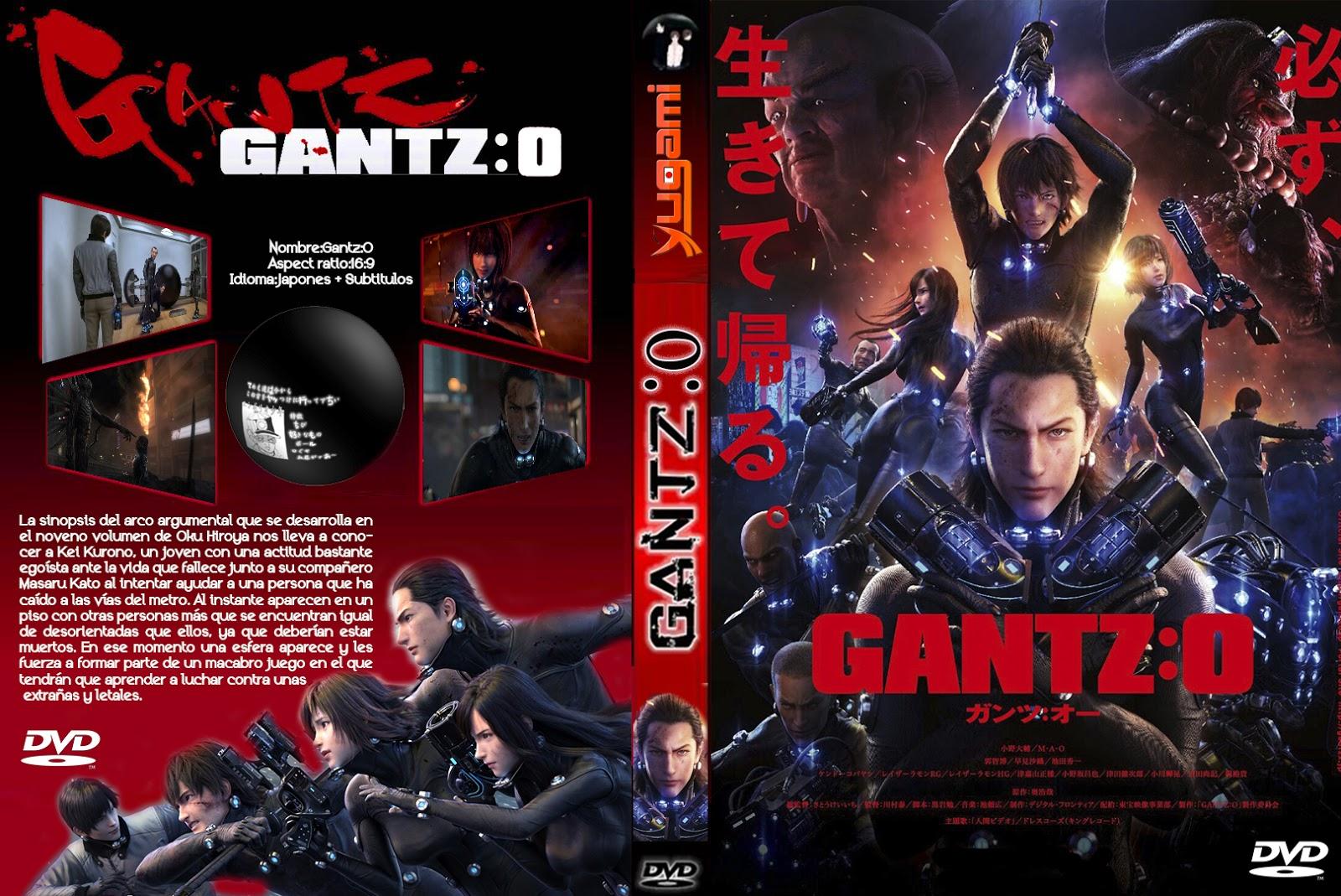 anime zaibatsu: Gantz:O MOVIE SUB ESP