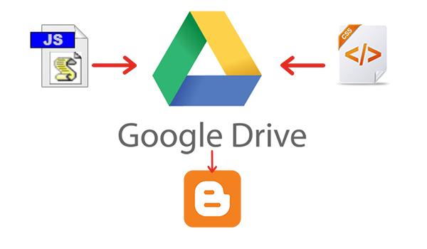 blogger_host_google_drive
