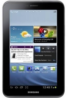 Galaxy Tab 2 com Ice Cream Sandwich