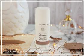 la crème pour les mains Régénérante de Dr Hauschka