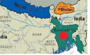 Nepal, Bhutan, Bangladesh