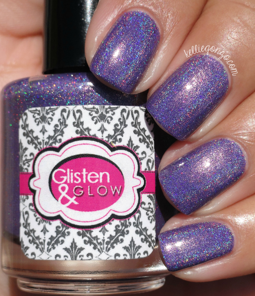 Glisten & Glow Purple Grenadier