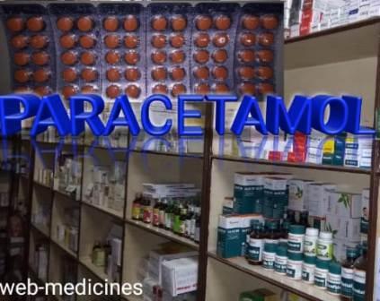 Paracetamol Brand List