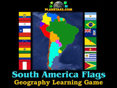 Знамена на Южна Америка