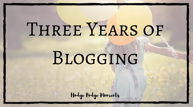 Three Years of Blogging