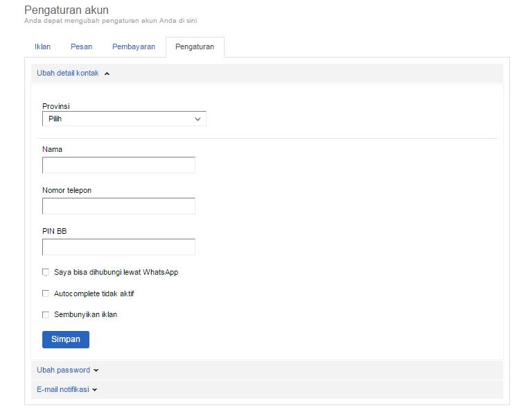 Cara Mudah Mendaftar Dan Membuat Akun di OLX co id Terbaru - Jaman
