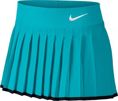 Dívčí tenisová sukně Nike Victory Skirt 724714-418 modrá