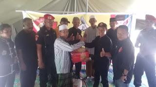 Perguruan Ikatan Kera Sakti  (IKS-PI)Pusat Madiun Peduli Sesama Bawa Bantuan Untuk Korban Gempa Lombok