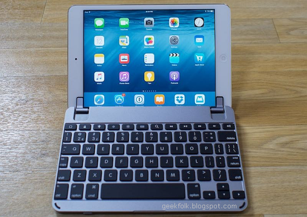 BrydgeMini Aluminium Bluetooth Keyboard for iPad Mini
