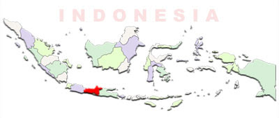 image: Central Java map location