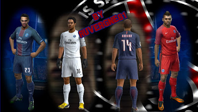 PES 2013 PSG 2016/2017 complete GDB by Auvergne81