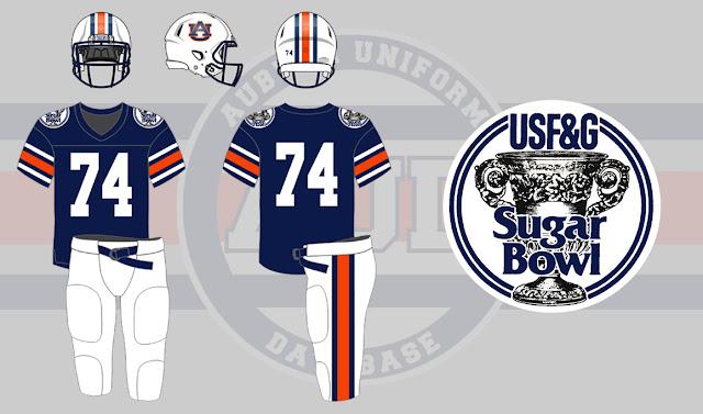 1989 Sugar Bowl Auburn Florida State