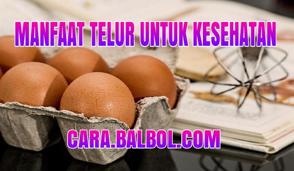 Ternya Ini Manfaat Telur untuk Kesehatan Tubuh