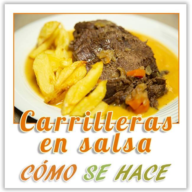 CARRILLLADA DE TERNERA EN SALSA
