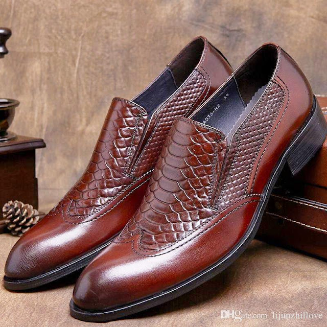 Men's luxury fashion shoes.
