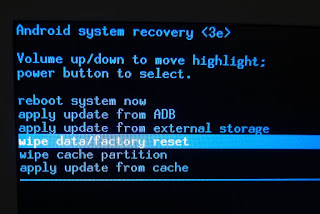 Reset Asiafone Asiadroid AF15 (BFO) Via Recovery