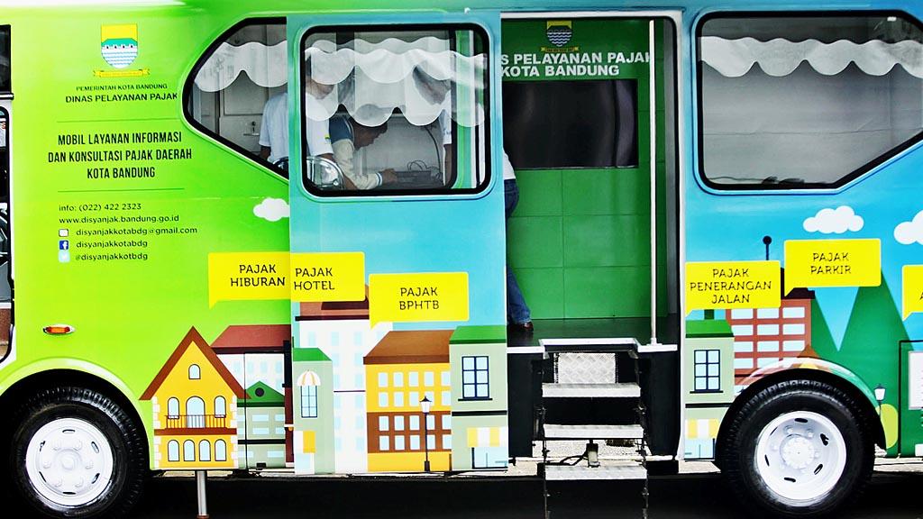 Aplikasi dan Bus Pelayanan Pajak Resmi Diluncurkan