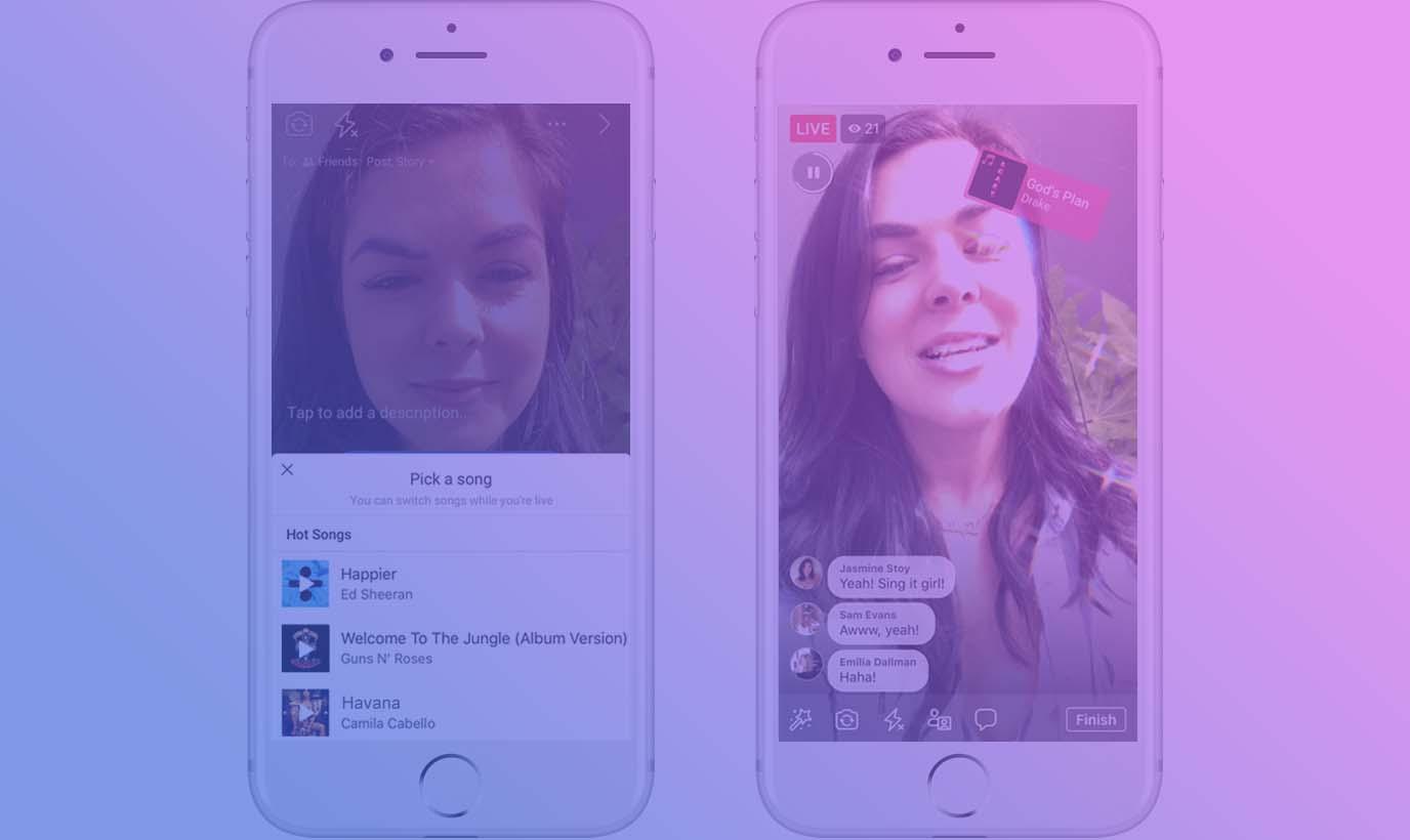 Kini Di Facebook Kamu Bisa Live Video Lip Sync Lho!