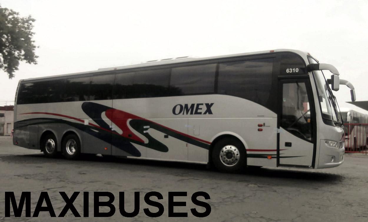MAXIBUSES: OMNIBUS MEXICANOS - OMEX