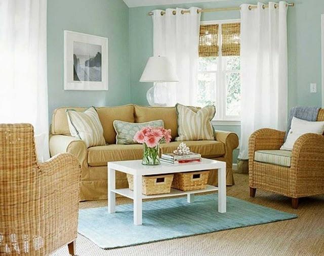 desain ruang tamu minimalis yang sederhana