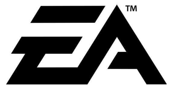Logo EA Games memiliki simbol TM di atas kanan