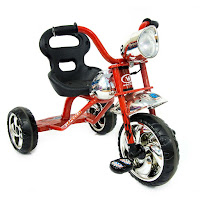 wimcycle w09 hot wheels tricycle