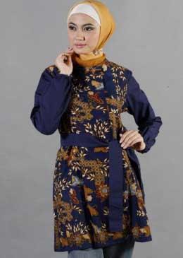 Model Baju Batik Modern Terbaru Terbaru Model Baju Batik