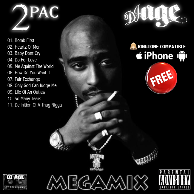 DJ AGE: DJ AGE Launches 'MegaMix Ringtones' - FREE 2PAC SAMPLE