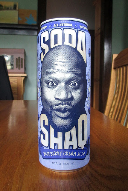 Soda Shaq Blueberry Cream Soda