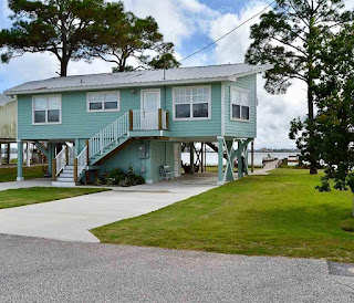 Little Lagoon Waterfront House For Sale in Gulf Shores AL
