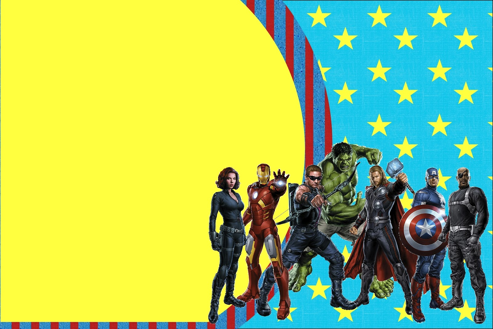 avengers free printable invitations