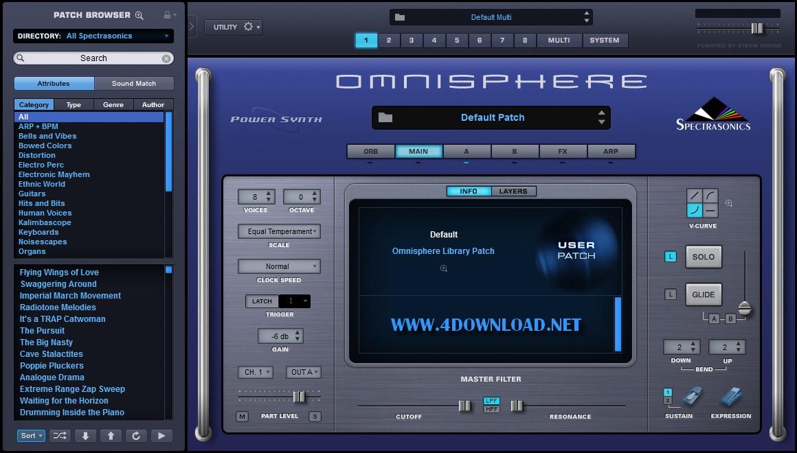 Spectrasonics - Omnisphere 2 v2.4.2c Full version