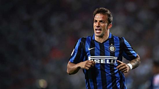 Alessandro Del Piero thi đấu xuất sắc dưới màu áo Juve.