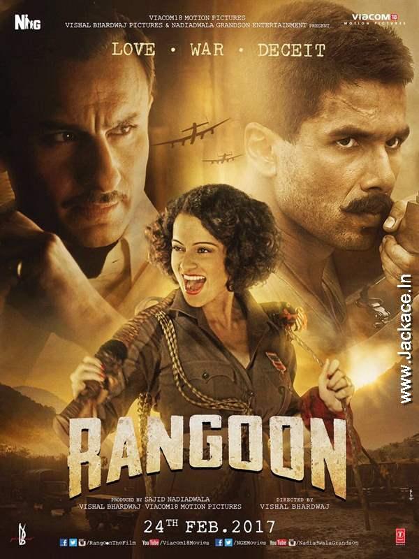 Rangoon First Look Poster 4