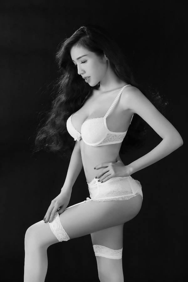 a4 - Hot Model ELLY TRAN Beautiful Sexy